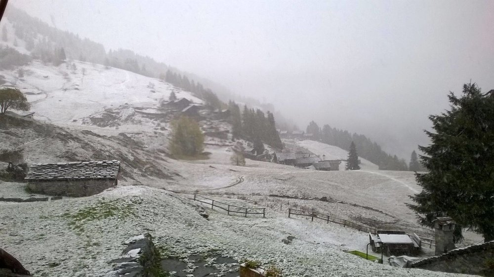 Alagna Valsesia, 15.10.2015 - © Alagna.it Facebook