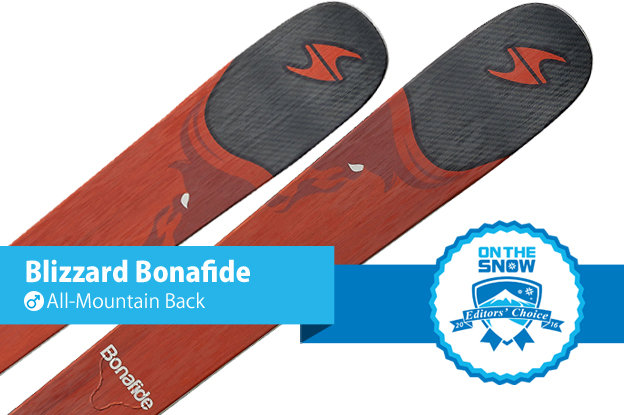 Blizzard Bonafide: Editors' Choice, Men's All-Mountain Back