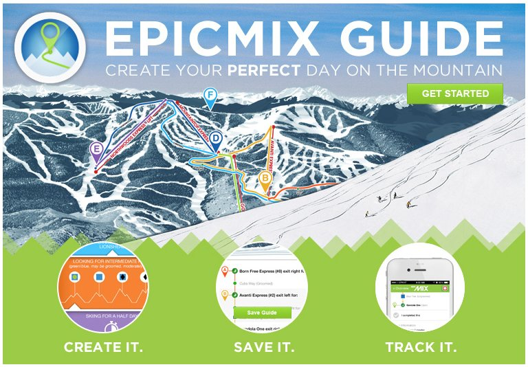 EpicMix Time new app addition for 2015/2016. - © Vail Resorts
