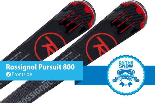 Rossignol Pursuit 800: Editors' Choice, Men's Frontside