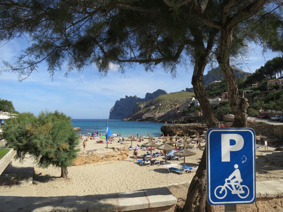 Radparkplatz auf Mallorca - © Armin Herb