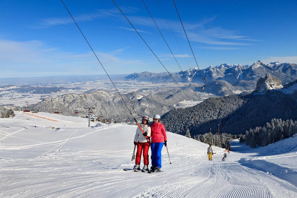 Gemütliches Familienskifahren in Pfronten - © Pfronten Tourismus