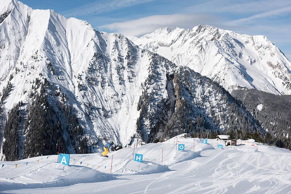 Die Funslope in Mayrhofen - © Mayrhofner Bergbahnen AG
