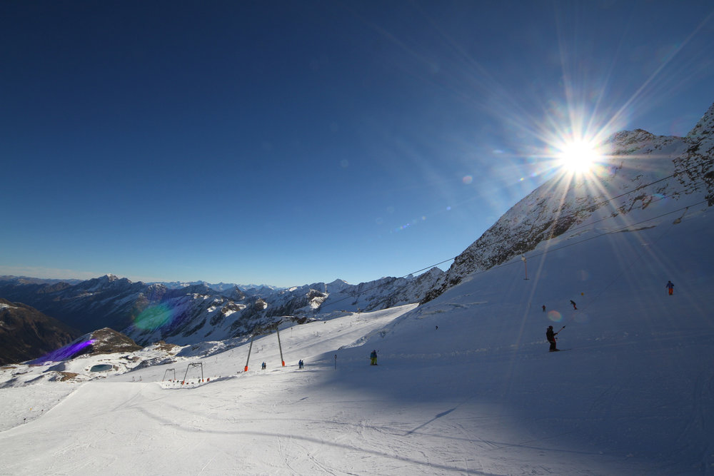 Trasa 21 na lodowcu Stubai - © Skiinfo