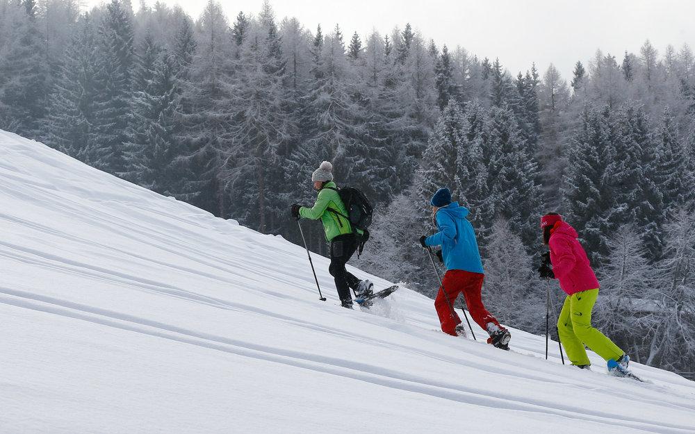 Ein anstrengender Sport in wunderschöner Umgebung - © Tourismusverband Region Hall-Wattens