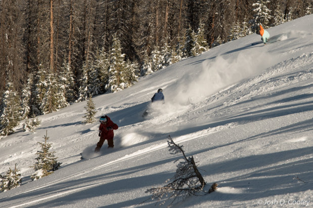 Riders Enjoy Fresh Powder at Wolf Creek Nov. 7, 2015 - © Josh D. Cooley
