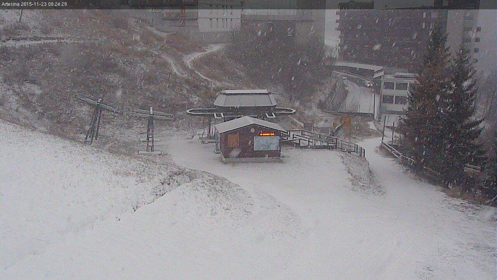 Artesina, neve fresca 23.11.15 - © Artesina Official FB