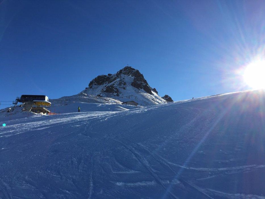 Das Skigebiet Fellhorn-Kanzelwand ist in die neue Saison 15/16 gestartet - © Kleinwalsertal Tourismus