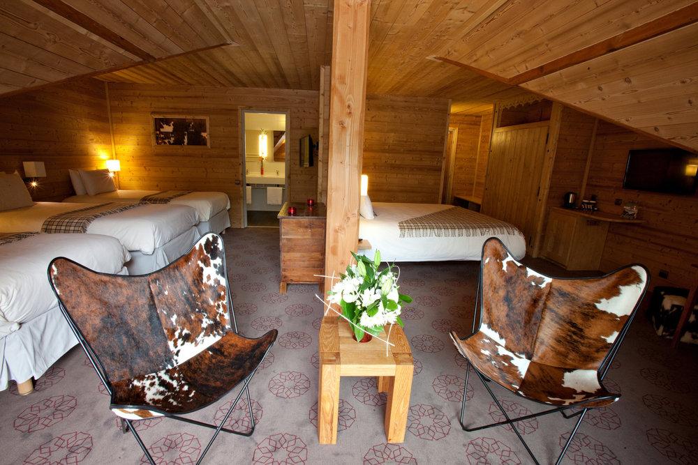 Confort de l'hôtel Mercure à proximité des pistes de ski de Saint Lary - © Office de Tourisme de Saint-Lary
