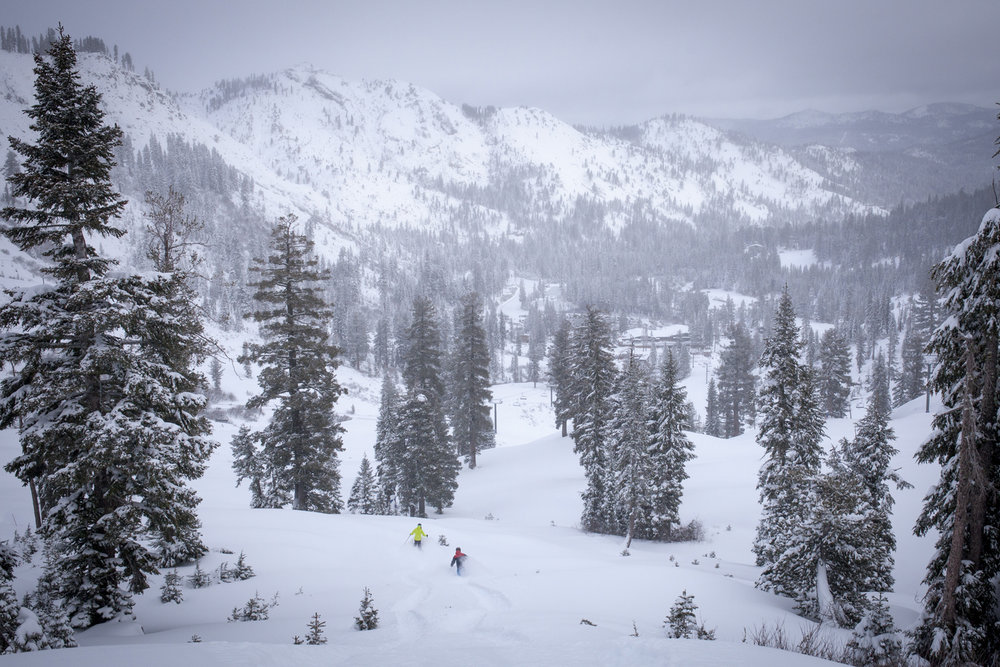 Squaw | Alpine already in great shape for the holidays.  - © Ben Arnst