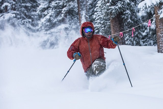 Arapahoe Basin has opened more terrain with plenty of snow falling in the past several days - © Dave Camara