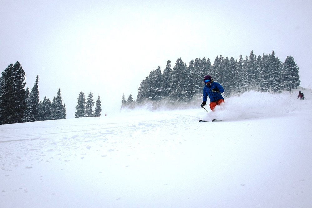 Breckenridge Ski Resort's snow conditions have been excellent thanks to recent snow storms - © Daniel Dunn