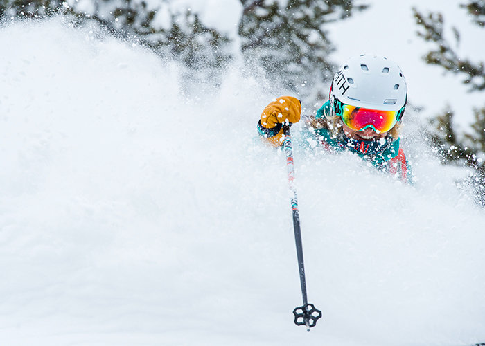 So könnte es im neuen Jahr auch in Europa endlich aussehen: Powderalarm! - © Aspen Snowmass