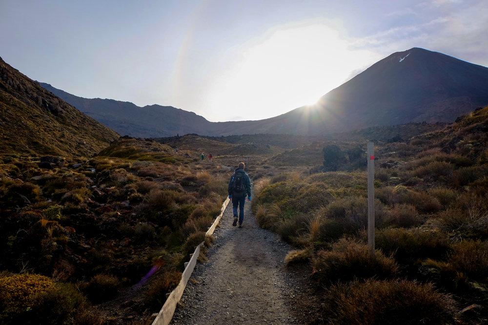 Auf dem Tongariro Alpine Crossing - © Julia Mohr