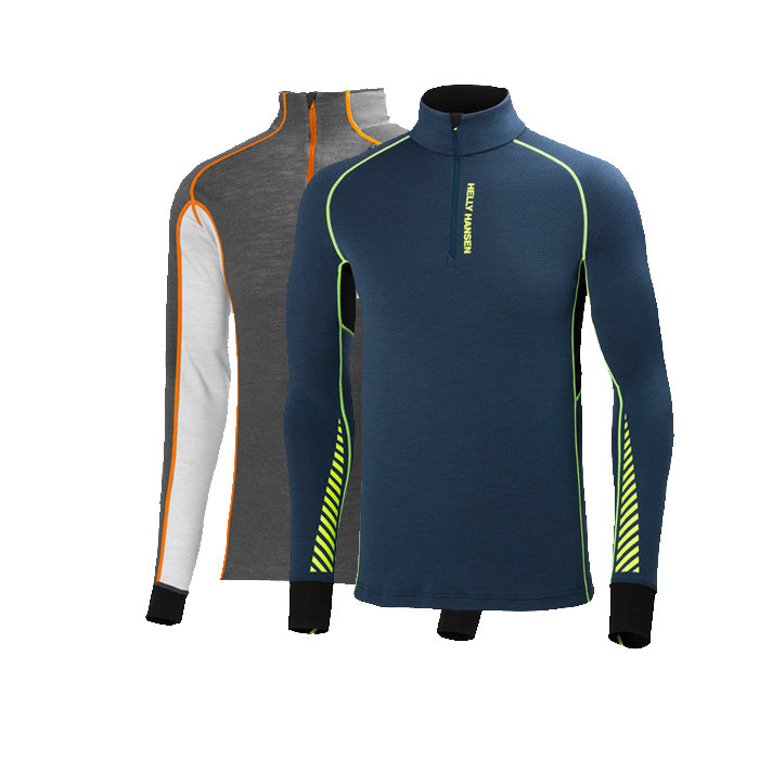 Helly Hansen Warm Flow and Warm Freeze Baselayers: $95-100 These 1/2 zip baselayers utilize merino wool and Lifa fiber technology to quickly wick moisture away from the skin and keep you dry and comfortable whatever the temps are on the mountain.