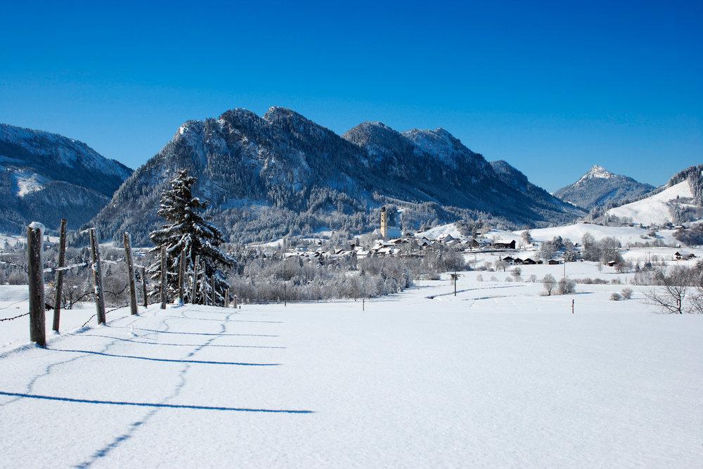Herrliche Winterlandschaft in Pfronten - © Pfronten Tourismus