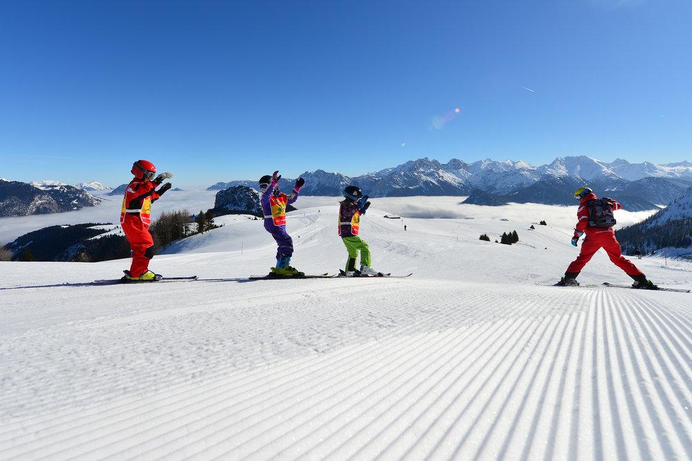 Skikurs im Salzburger Saalachtal - © Salzburger Saalachtal