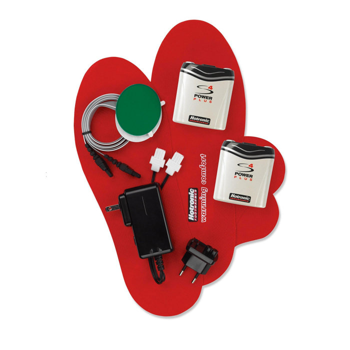 Hotronic Custom S4 Foot Warmer Kit: $249 Add some much needed warmth throughout your ski, snowboard or hiking boots with this custom foot warmer. This battery-powered kit can be used with Hotronic Heat Ready Insoles (sold separately) or on insoles of your choice.