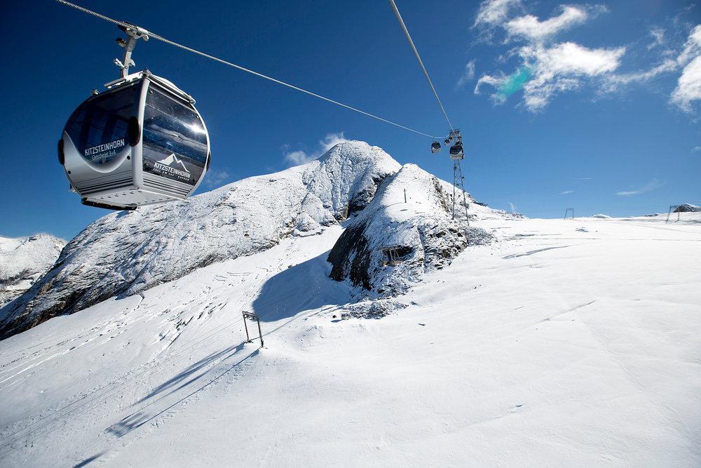 Sechs Monate Gletscherskivergnügen am Kitzsteinhorn – jetzt mit 2 neuen Bahnen - © Kitzsteinhorn