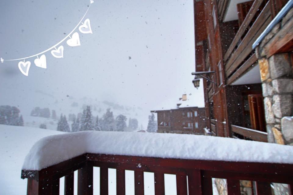 Neige au balcon, enfilez vos blousons, direction La Plagne... - © La Plagne