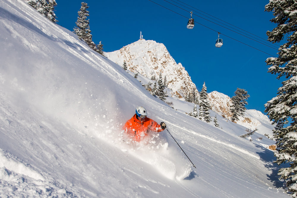Picture perfect at Snowbasin, Utah. - © Snowbasin Resort