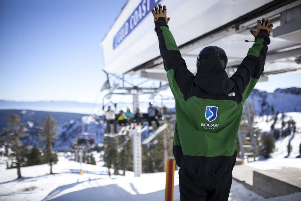 Opening day score at Squaw Valley with sun and fresh snow. - © Squaw Valley Alpine Meadows