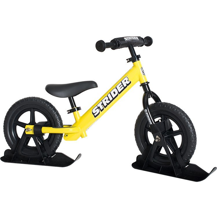 Strider Ski Accessory Kit: $34.99 From the company that brought you the best thing since training wheels, Strider now offers a way to transform your bike into a snow-worthy mode of transportation. It may not make your kid a better skier, but it looks like a fun alternative when those ski boots just have to come off.