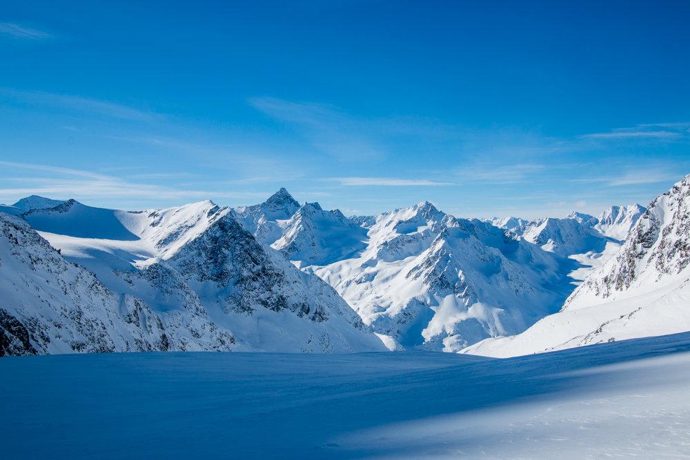 Aufstieg zum Schrankogel Skigipfel (3350 m) - © Erika Spengler
