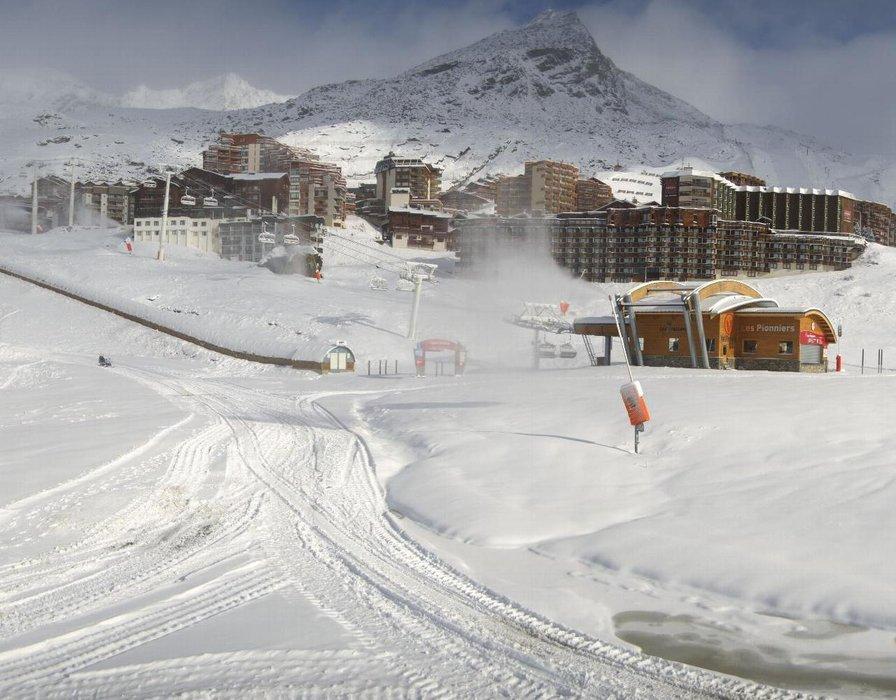 Pas de doute, le froid est la neige sont de retour sur Val Thorens