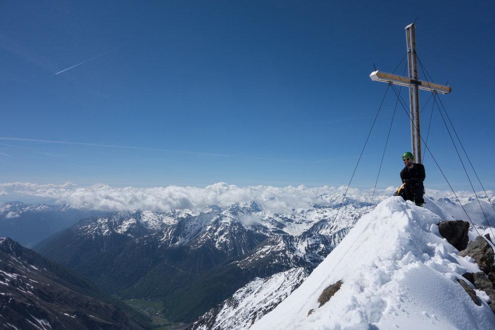 Gipfel Finailspitze - © Erika Spengler