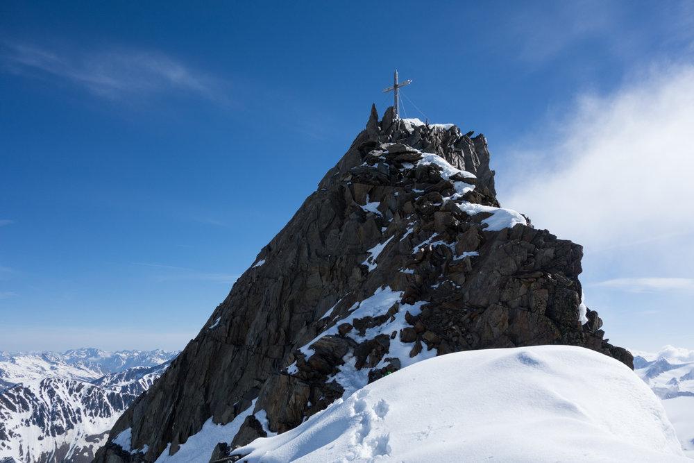 Gipfel Hintere Schwärze - © Erika Spengler