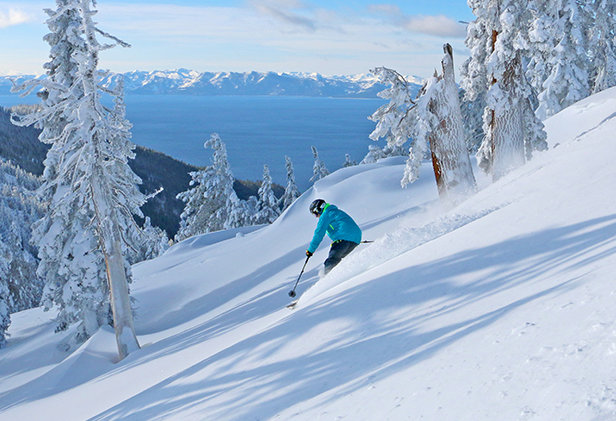 Diamond Peak's Eagle Bowl  - © Diamond Peak Ski Resort