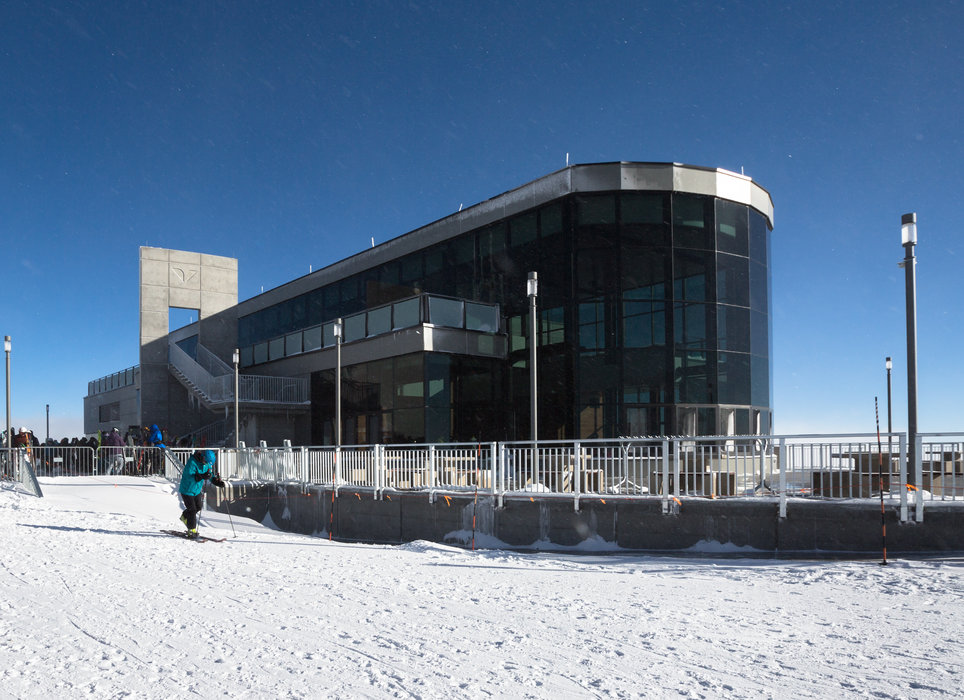 The Summit House at Snowbird opened in late December 2015. - © Matt Crawley