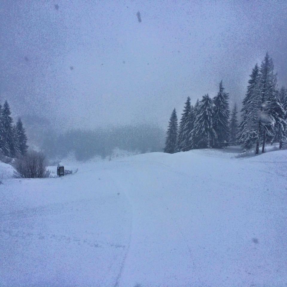 Čertovica (Čertova svadba) 20.1.2016: 20 cm čerstvého prašanu a stále sneží! - © FB Čertovica (Čertova svadba)