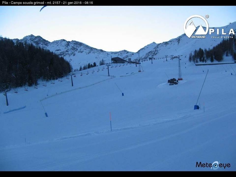 Pila - Pila Valle d'Aosta - © Pila - Pila Valle d'Aosta 21.01.2016 Facebook