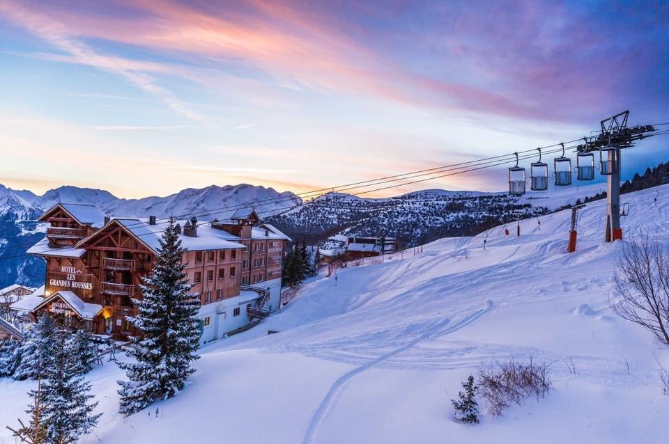 Alpe d'Huez  Jan. 15, 2016 - © Alpe d'Huez/Facebook