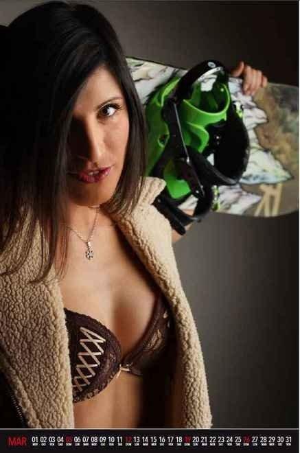 Kalendár lyžiarskych inštruktoriek z Cortiny d'Ampezzo 2017. Opäť sexy pre charitu. Výťažok z predaja kalendára bude venovaný miestnej pobočke Červeného kríža. - © Diego Gaspari Bandion - Photographer & Graphic Designer - Scuola Sci Cortina
