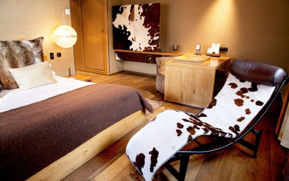 Chambre de l'hôtel « Grau Roig Andorra Boutique Hotel & Spa », à la station andorrane de Grandvalira - © Hôtel Grau Roig Andorra