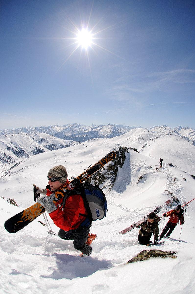 Kurz vor dem Gipfel des Tristkopf - © Norbert Eisele-Hein