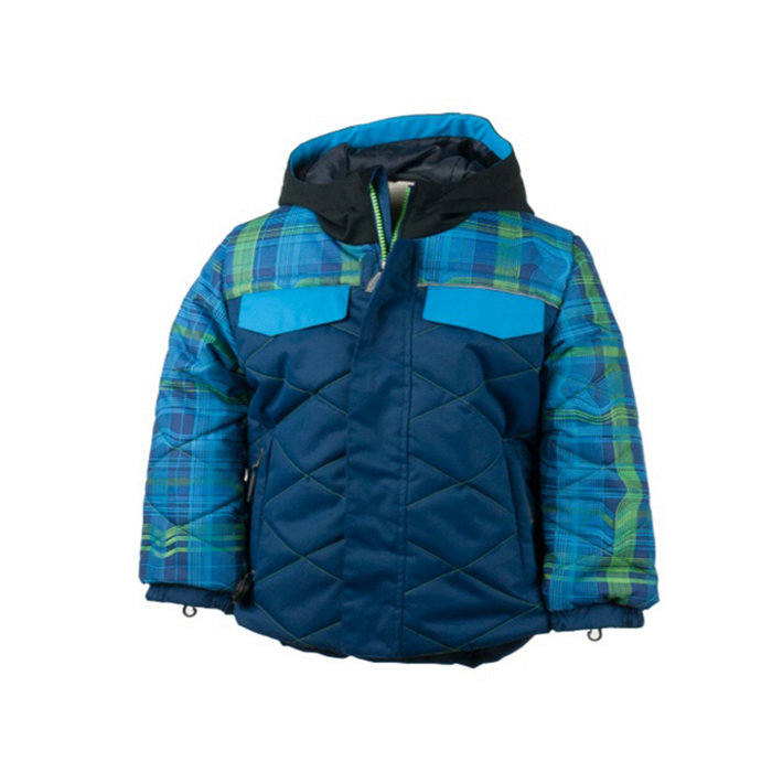 Obermeyer Wildcat Jacket: $129.50 Gear up your little dude in style with the Wildcat. Features including hidden glove clips and waterproof HydroBlock make this jacket a durable go-to for seasons to come.