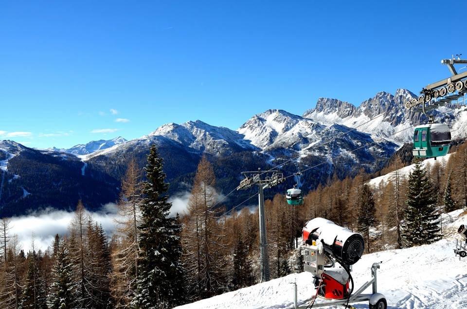 San Martino di Castrozza 03.01.2016 - © Skiarea San Martino di Castrozza Passo Rolle Facebook
