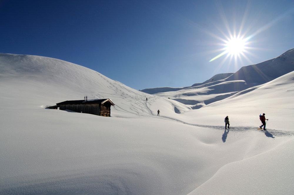 Schneeschuhwanderung auf der Rosswildalm beim Tristkopf - © Nobert Eisele-Hein