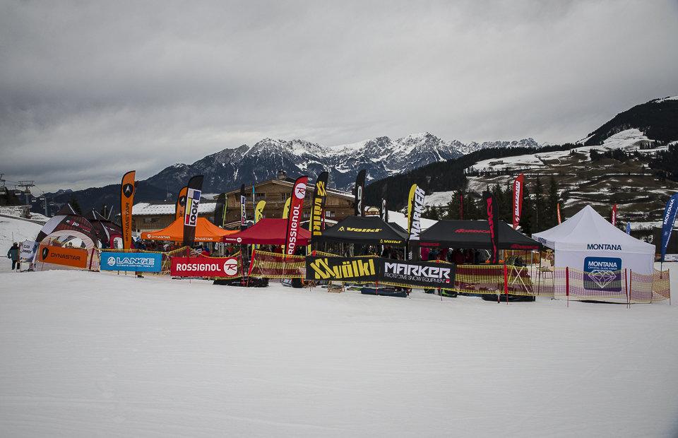 Testgelände beim AllonSnow Skitest in der Skiwelt Wilder Kaiser Brixental (11./12.1.16) - © Roman Knopf | AllonSnow