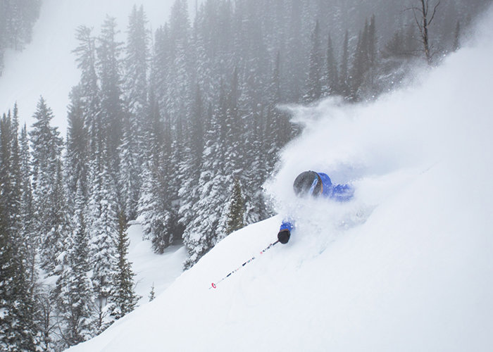 The snow is no joke at Jackson Hole this season. - © Jackson Hole Mountain Resort