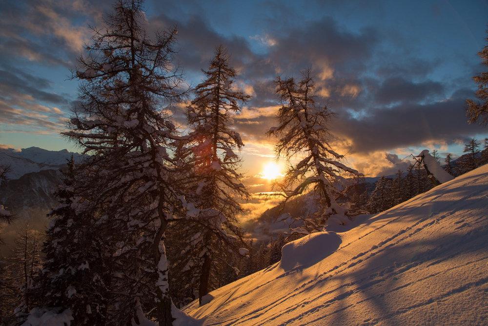 Neuvěřitelná krása a zima ve své nejlepší podobě: Kouzelné údolí Rhony - © WhiteHearts