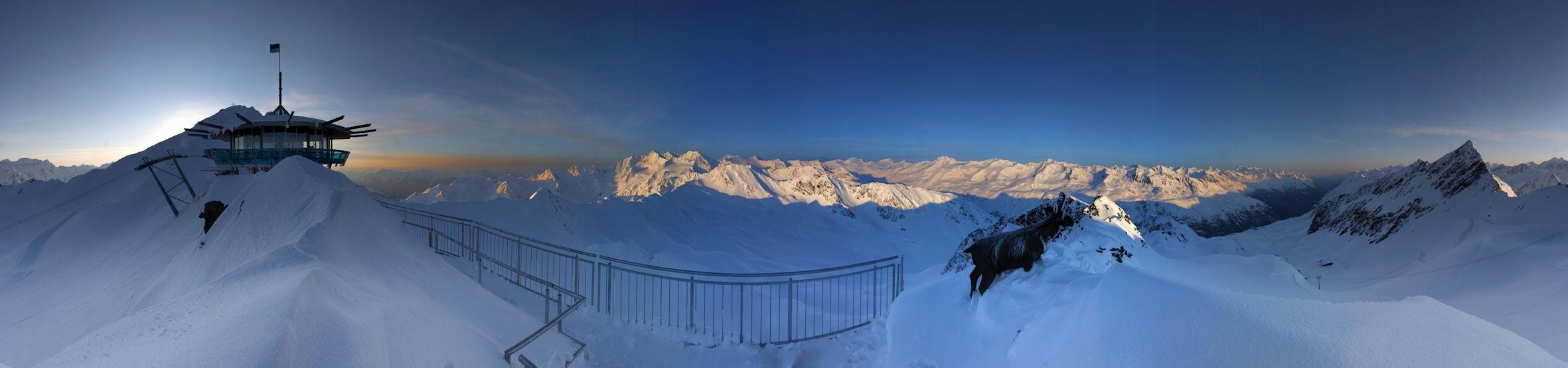 Panorama of Obergurgl-Hochgurgl. Copyright: Ötztal Tourismus.