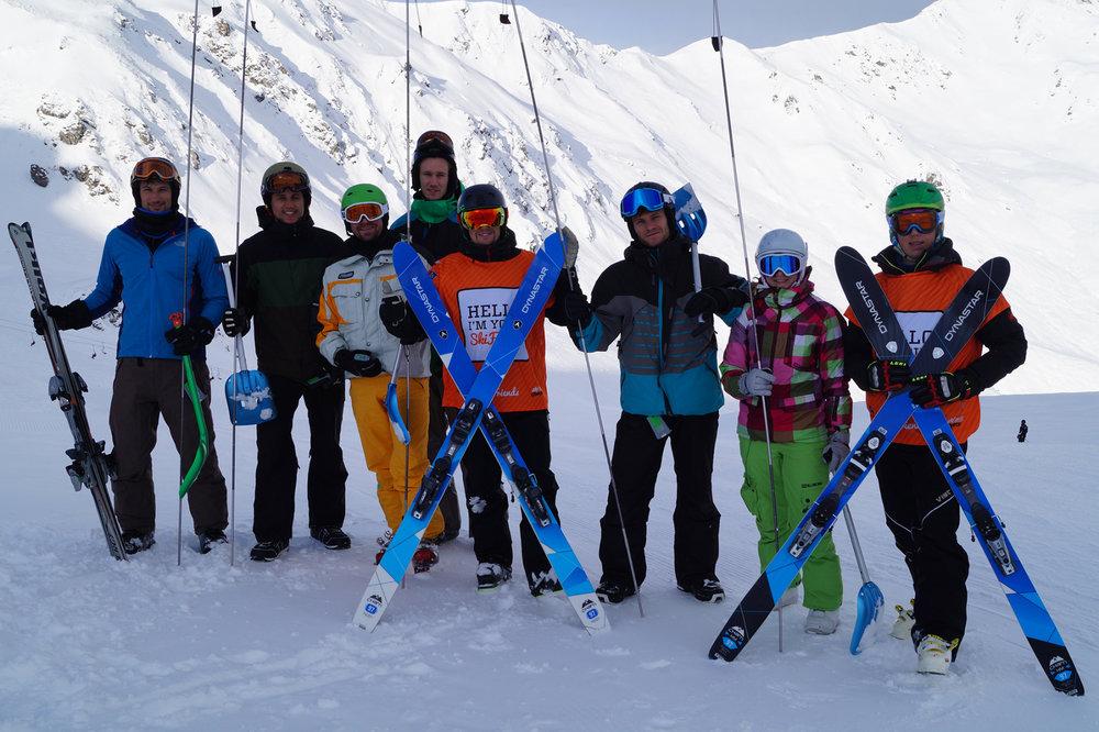 Skifriends-Gruppe in Hochfügen - © Skilifte Hochfügen