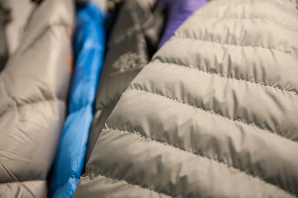 Bergans introduces the Strandåtind jacket featuring Air Flake, a new synthetic fiber insulation from Japan that mimics down in shape and consistency. - © Ashleigh Miller Photography