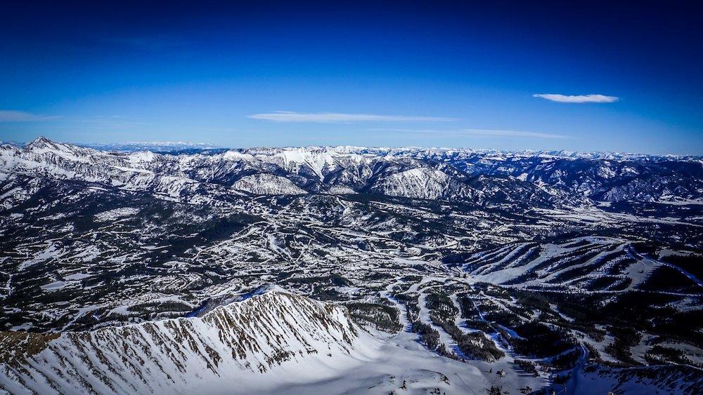 Getting lost in Montana via Big Sky Resort - © Eric Slayman