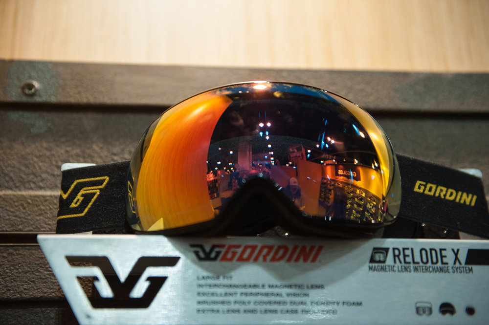 Gordini's Relode goggle comes with two magnetic-interchangeable lenses for $150. - © Ashleigh Miller Photography